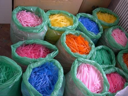 Straw colour palette.